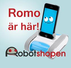 Robotar för hobby och utbildning hos Robotshopen